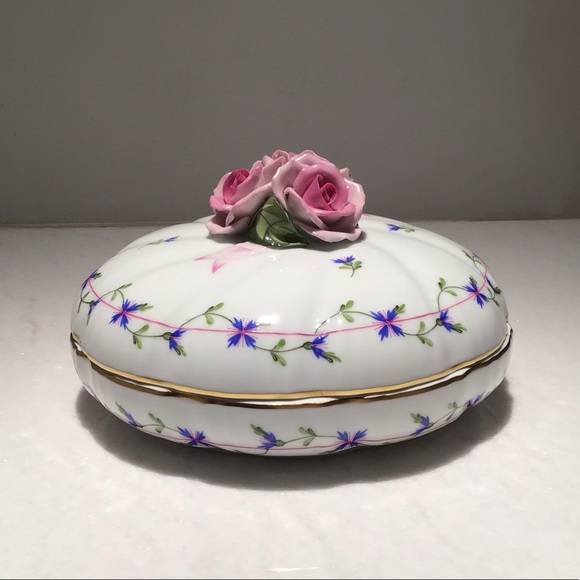 Herend Porcelain Dish with Cover